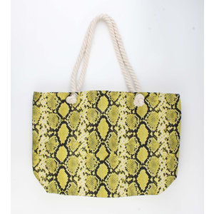 "Shopper ""Xaxa"" yellow"