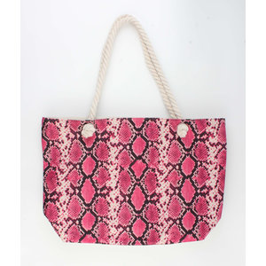 "Shopper ""Xaxa"" pink"