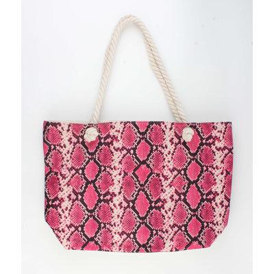 "Shopper ""Xaxa"" pink"