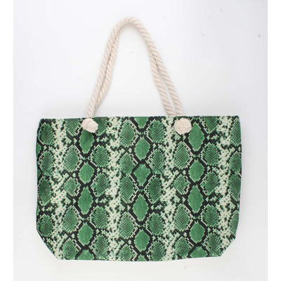 "Shopper ""Xaxa"" green"