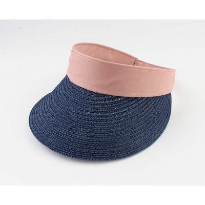 "Zonneklep ""Osire"" blauw/roze"