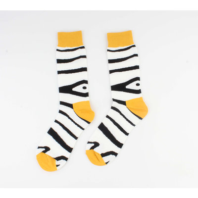 """Socken """"Babis"""" schwarz / gelb"""