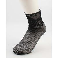 "Socks ""Silke"" black, per 2 pairs"