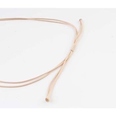 """Necklace """"Batela"""" beige"""