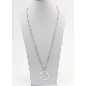 """Necklace """"Uyo"""" gray / silver"""