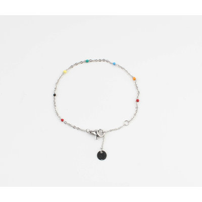 """Bracelet """"Mamfe"""" multi / silver"""