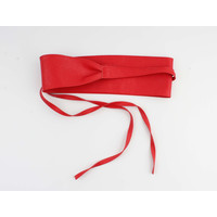 "Belt ""Ikom"" red"