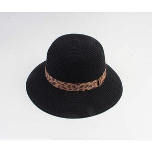 "Cloche hoed ""Baissa"" zwart"