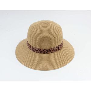 "Cloche hoed ""Baissa"" bruin"