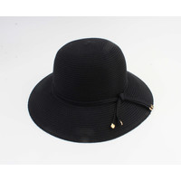 "Cloche hat ""Donga"" black"