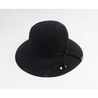 """Cloche hoed """"Donga"""" zwart"""