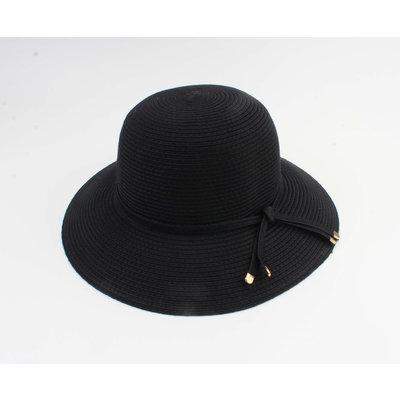 "Cloche hat ""Donga"" black"
