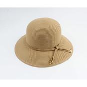 "Cloche hat ""Donga"" brown"