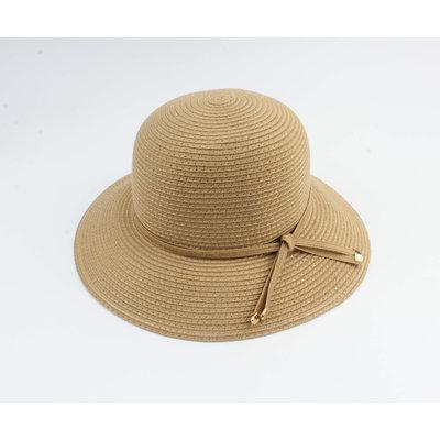 "Cloche hoed ""Donga"" bruin"