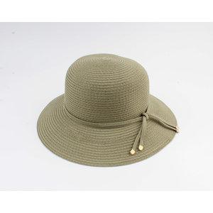 "Cloche hat ""Donga"" green"