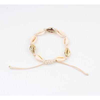 """Armband """"Qandala"""" beige"""