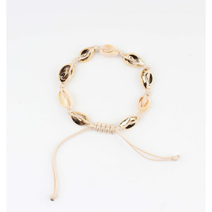 """Armband """"Feyn"""" beige"""