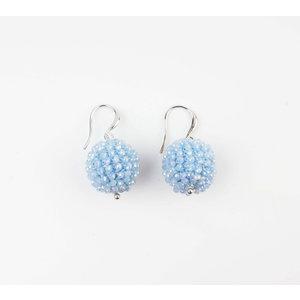 """Earring """"Ashira"""" blue"""