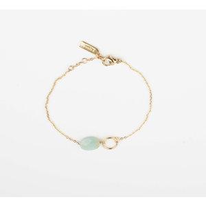 """Bracelet """"Bayla"""" turquoise / gold"""