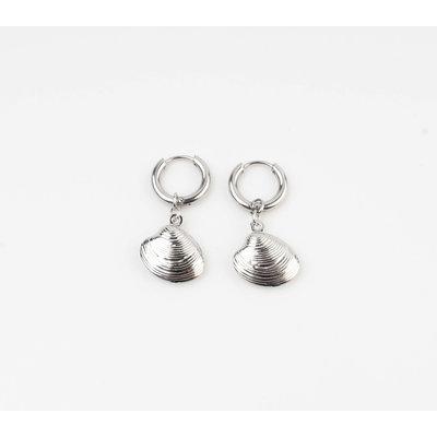 """Earring """"Burtin"""" silver"""