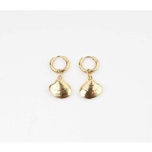 """Earring """"Burtin"""" gold"""