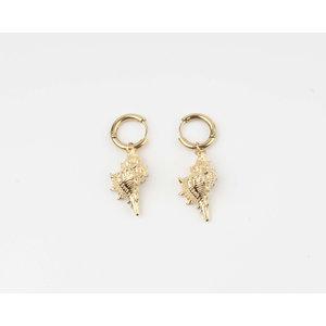 "Earring ""Gori"" gold"