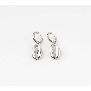 """Earring """"Dhino"""" silver"""