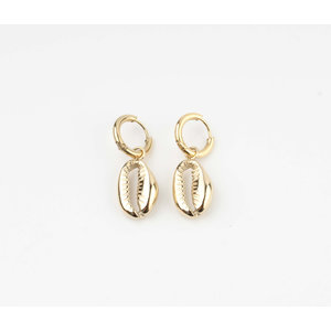 """Earring """"Dhino"""" gold"""