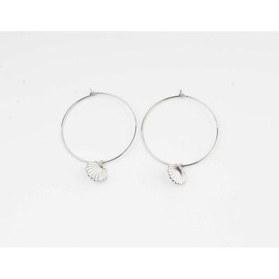 """Earring """"Galo"""" silver"""