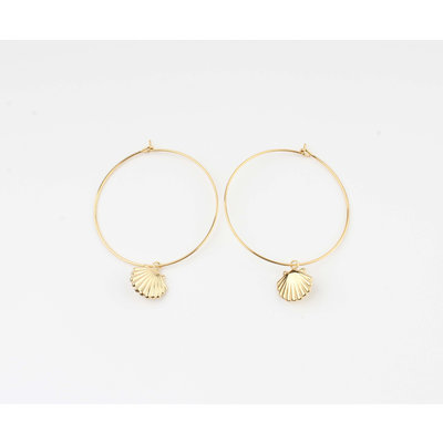 """Earring """"Galo"""" gold"""