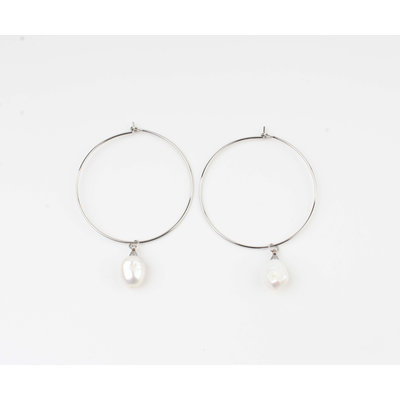 """Earring """"Jeelo"""" silver"""