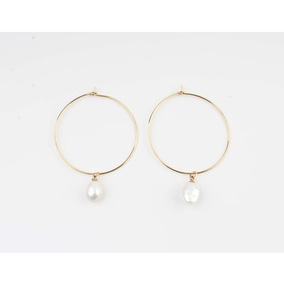 "Earring ""Jeelo"" gold"