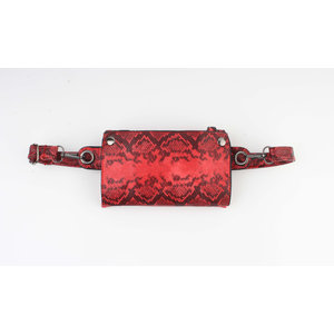"Crossbody / Waist bag ""Godina"" red"