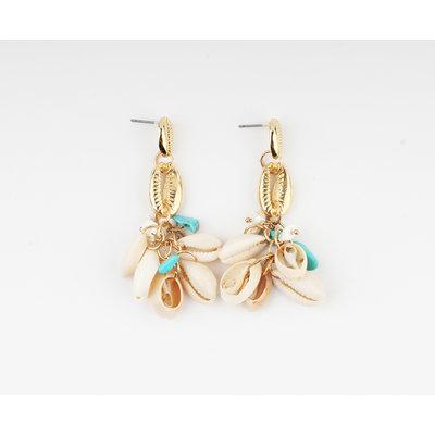 """Earring """"Gawana"""" gold"""