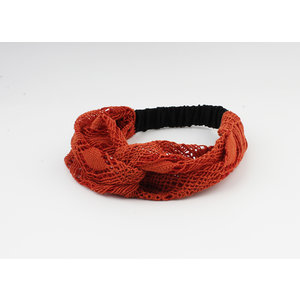 "Hair band ""Mahas"" red"
