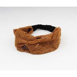 "Haarband ""Mahas"" bruin"