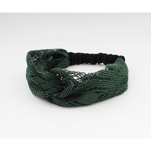 "Hair band ""Mahas"" green"