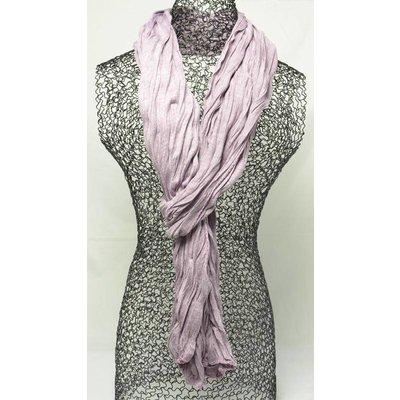 """Sjaal """"Uni Jersey S"""" gemeleerd paars"""