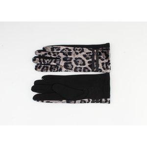 """Gloves """"Brooke"""" brown / black"""