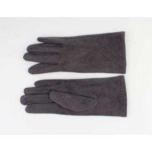 "Gloves ""Cayenne"" gray"