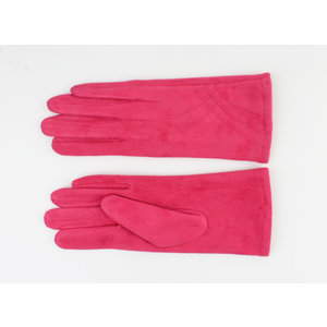 "Gloves ""Cayenne"" fuchia"