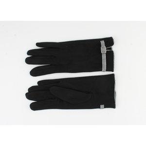 "Gloves ""Cerise"" black"