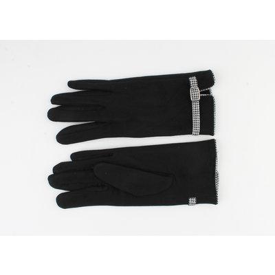"""Handschoen """"Cerise"""" zwart"""