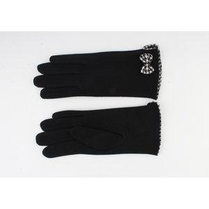 "Gloves ""Cinnamon"" black"