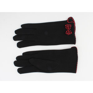 "Gloves ""Cinnamon"" red"