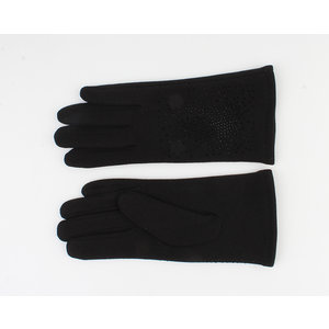"Handschuhen ""Crystal"" schwarz"