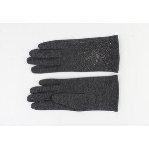 "Gloves ""Crystal"" gray"