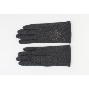 "Handschuhen ""Crystal"" grau"