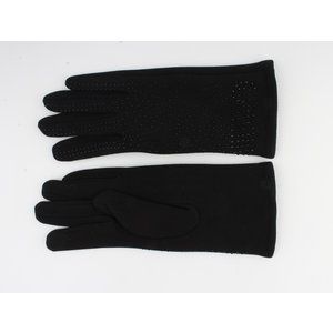 """Handschoen """"Caja"""" zwart"""
