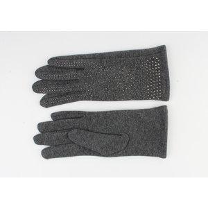 "Gloves ""Caja"" gray"